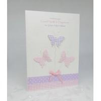 Butterflies New Home Card