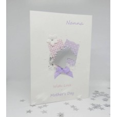 Mother's Day with Silver Satin Horse for Nanna