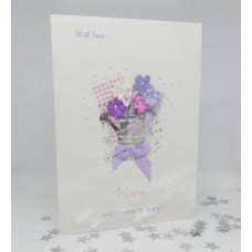 Mother's Day Flower Garden card for Nana