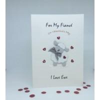 I Love Ewe Valentine's Day Card for My Fiance