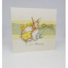 Easter Card Springtime Flora & Fauna