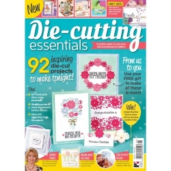 Die-Cutting Essentials Magazine - Flora Bouquet Die Set