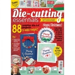 Die Cutting Essentials Magazine 5 Merry Christmas wreath die set