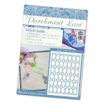 Parchment Lace Magazine Issue 03 Includes Decorative Oval Lattice