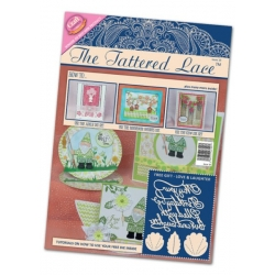 The Tattered Lace Magazine, Issue 10 includes LOVE & LAUGHTER die