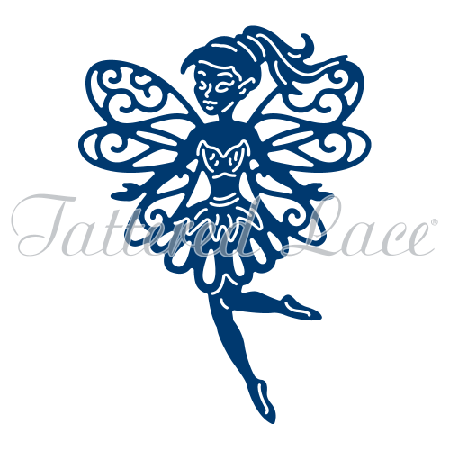 10 Tattered Lace die cuts FAIRY TINKS