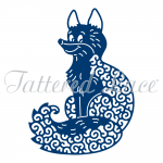 Tattered Lace Die FOX Die