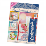 The Tattered Lace Magazine, Issue 23 includes Congratulations word die