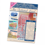 The Tattered Lace Magazine, Issue 24 includes mini stepper card dies