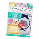 The Tattered Lace Magazine, Issue 29 includes VINTAGE HANDBAG die