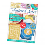 The Tattered Lace Magazine, Issue 33 includes Zodiac Words dies horoscope