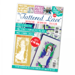 The Tattered Lace Magazine, Issue 34 includes Evelyn Lady die