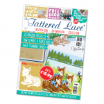 The Tattered Lace Magazine, Issue 36 includes Baby Fawn Bambi Deer die