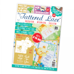 The Tattered Lace Magazine, Issue 37 includes Teddy Bear Hugs Die & stamp set
