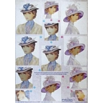 3D Decoupage Sheet. Dufex.  PYRAMEX. Ladies 248703