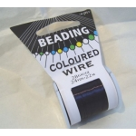 22m Spool Beading Wire 28 gauge, PURPLE AUBERGINE