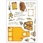 Creative Expressions A4 Unmounted Rubber Stamps,  GONE FISHING