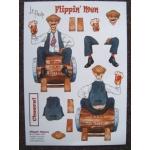 Flippin' Men Decoupage FLIPPIN' CHEERS