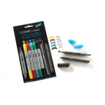 Copic ciao Double-ended Markers 5+1 Set which Inc fine Multi Liner, BRIGHT, RRP £15.95