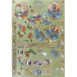 3D Decoupage Sheet. DieCut. Dufex.  FREESTYLE. D.I.Y 248661