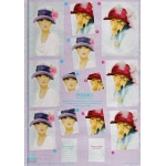 3D Decoupage Sheet. Dufex.  PYRAMEX. Ladies 248737