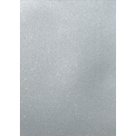 A4 Premium GLITTER CARD from Artoz No-shed,  Silver