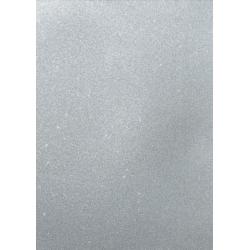 A4 Premium GLITTER CARD from Artoz No-shed,  Silver