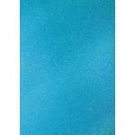 A4 Premium GLITTER CARD from Artoz. No-shed. Blue TURQUOISE