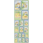 Die Cut Self Adhesive Sticker Sheets, FEATHERED FRIENDS Easter Ducks & Chicks