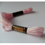 EMBROIDERY THREAD. 8m Skein, 100% Cotton. BABY PINK
