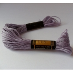 EMBROIDERY THREAD. 8m Skein, 100% Cotton. LILAC