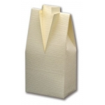 10 Tuxedo Favour Boxes, male theme, in Ivory Silk