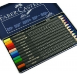 Faber-Castell ART GRIP Professional Pencils, 12 Set, Art, Graphics, Papercrafts RRP £13.99