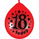 Pack 10 Latex Balloons. 10