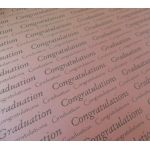 BY the sheet.  A4 GRADUATION Print on Pink Pearl.  Backing Papers