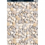 Kanban PEBBLES on the Shore backgound Cardstock, A4 300gsm