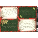 Kanban SEASONAL SENTIMENTS Die cut Toppers Sheet A4