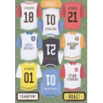 Kanban GOAL Die cut Toppers Sheet A4 Football Shirts