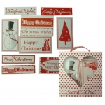 Scandi-Chic PRINTED WORDS, Christmas Sentiments &  Image Banners