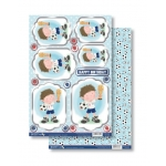 THE GLORY Die Cut Toppers & Backing Card Pack CHILDHOOD MEMORIES