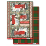 Post Box CHRISTMAS PRESENT Die Cut Toppers & Backing Card Pack