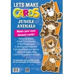 Lets Make Cards Kits, JUNGLE ANIMALS, Outstanding value with this kits