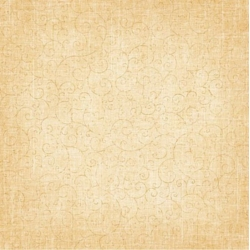 12 x 12 Background Paper, Christmas Scrolls - Cream