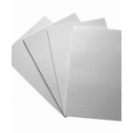 5 Sheets A3 CENTURA PEARL Cardstock - WHITE (Hint Gold)