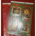 Die Cut Toppers & Cardstock Pack, Beautiful Bells, Christmas