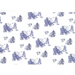 Kanban WILLOW PATTERN Oriental Background Paper A4