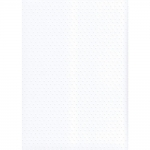 BY The Sheet WHITE Bobble Dots Embossed Cardstock