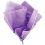Lilac Purple TISSUE PAPER Pack, 10 Lge Sheets, acid free