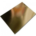 BY The Sheet... A4 Gold MIRROR CARD, Fine Grade