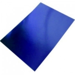 BY The Sheet... A4 Royal Blue MIRROR CARD, Fine Grade